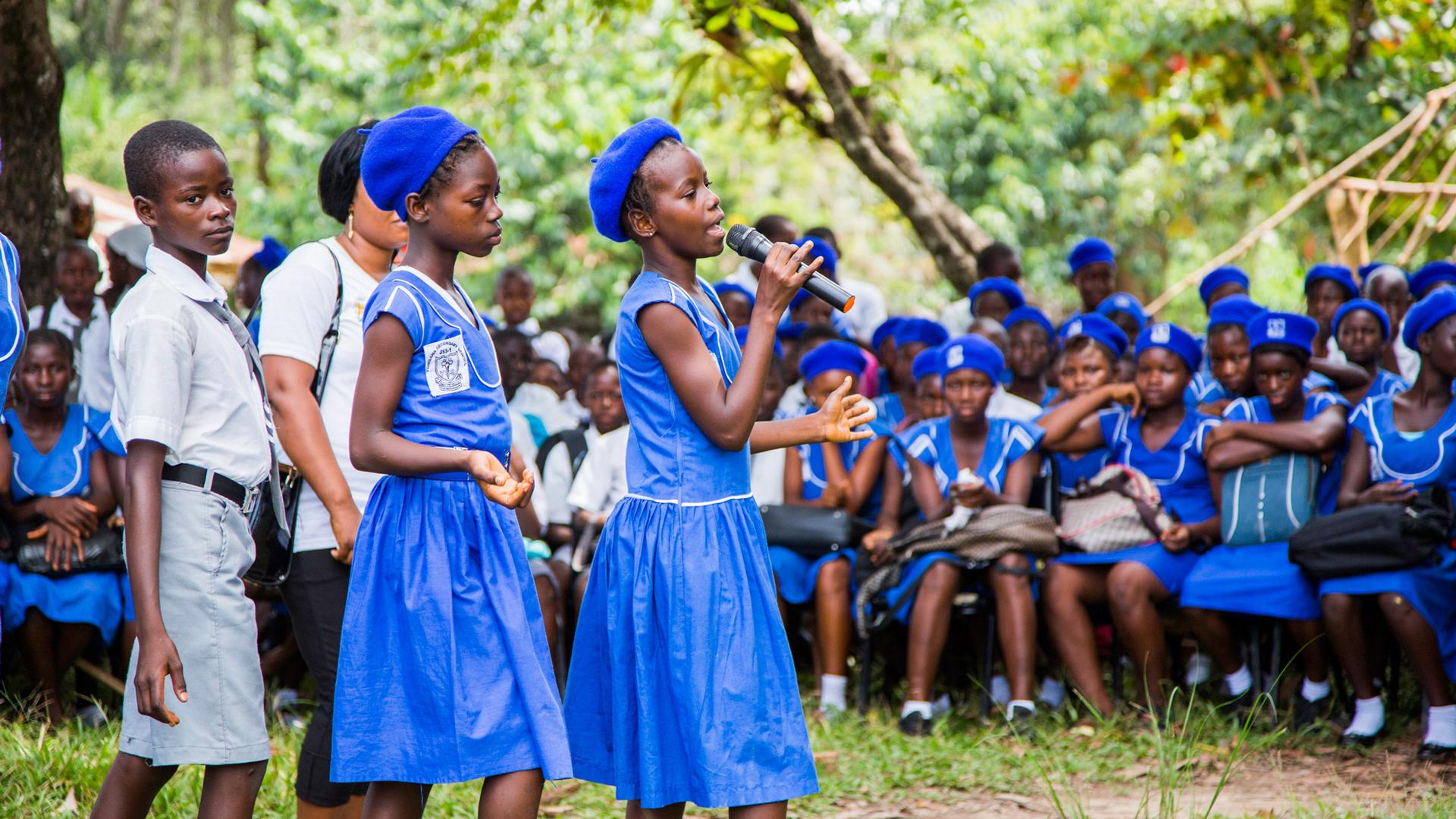 "One Girl Programs in Action - One Girl - ""Scholarships"""